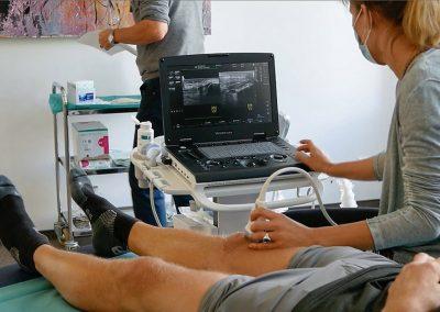 Ultraschall-Schulung